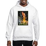 Fairies / G Schnauzer Hooded Sweatshirt