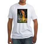 Fairies / G Schnauzer Fitted T-Shirt