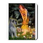 Fairies / G Schnauzer Mousepad