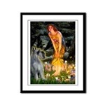 Fairies / G Schnauzer Framed Panel Print