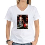 Accolade / G Schnauzer Women's V-Neck T-Shirt