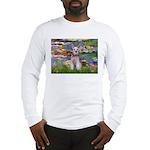 Lilies / M Schnauzer Long Sleeve T-Shirt