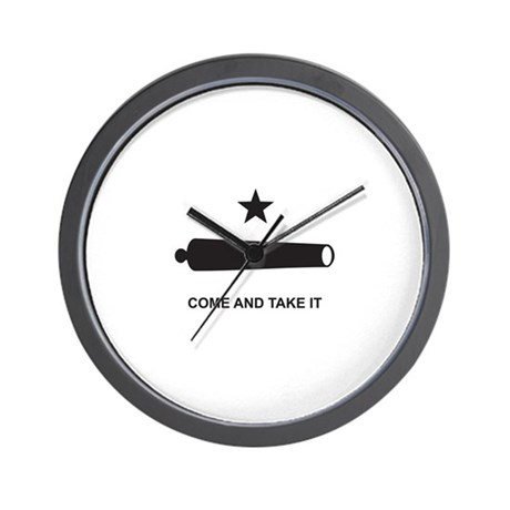 Come And Take It! Wall Clock