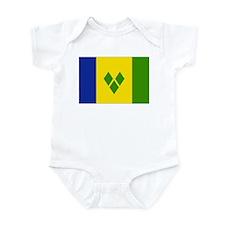 Saint Vincent and Grenadines Infant Bodysuit
