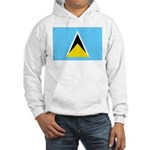 Saint Lucia Hooded Sweatshirt
