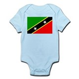 Saint Kitts and Nevis Infant Bodysuit