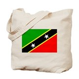 Saint Kitts and Nevis Tote Bag