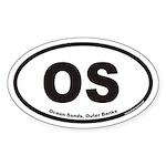Ocean Sands OS Euro Oval Sticker