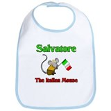 Salvatore The Italian Mouse Bib