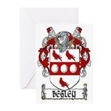 Begley Coat of Arms Greeting Cards (Pk of 20)
