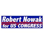 Robert Nowak for Congress Bumper Sticker