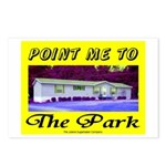 Point Me To The Park Postcards (Package of 8)