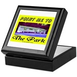 Point Me To The Park Keepsake Box