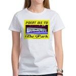 Point Me To The Park Women's T-Shirt