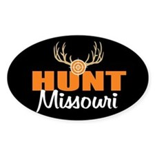 HUnt Missouri Oval Decal