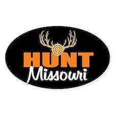 HUnt Missouri Oval Decal