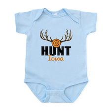 Hunt Iowa Infant Bodysuit