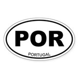 Portugal Oval Decal