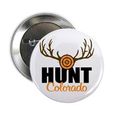 "Hunt Colorado 2.25"" Button (100 pack)"
