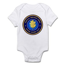 Navy Medical Services Infant Bodysuit