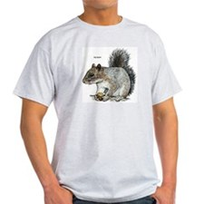 Gray Squirrel Ash Grey T-Shirt