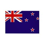 New Zealand Rectangle Magnet (10 pack)