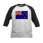 New Zealand Kids Baseball Jersey