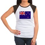 New Zealand Women's Cap Sleeve T-Shirt