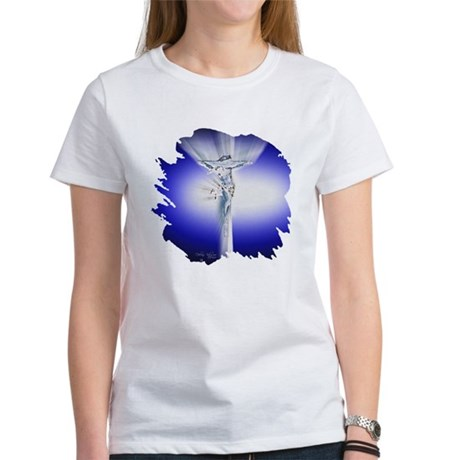 Jesus on Cross Women's T-Shirt