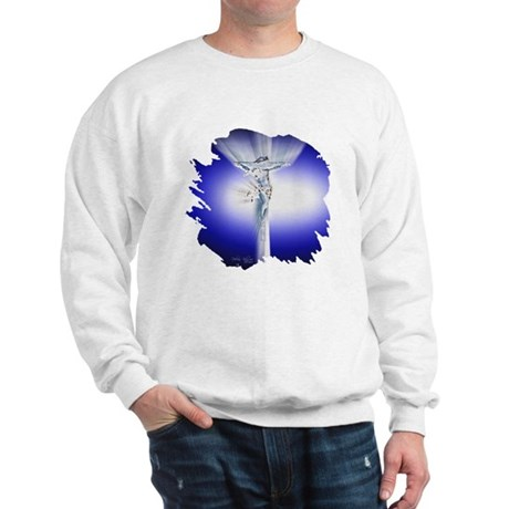 Jesus on Cross Sweatshirt