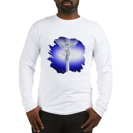 Jesus on Cross Long Sleeve T-Shirt