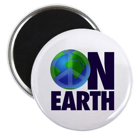 "Peace on Earth 2.25"" Magnet (10 pack)"