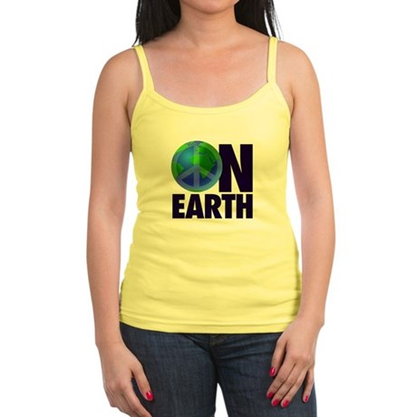 Peace on Earth Jr. Spaghetti Tank