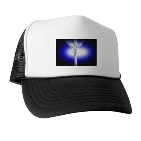 Jesus on Cross Trucker Hat