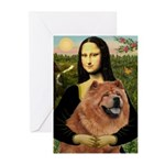 Mona / Chow Greeting Cards (Pk of 20)