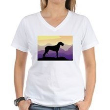 Ridgeback Dog Mountains Shirt
