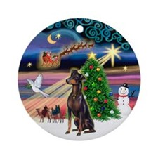 Xmas Magic / Manchester Ornament (Round)