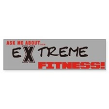 Ask Me About... Extreme Fitness Bumper Bumper Sticker
