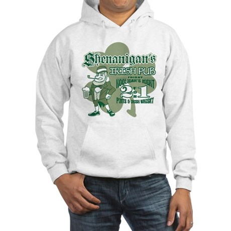 Shenanigan's Irish Pub (light Hooded Sweatshirt