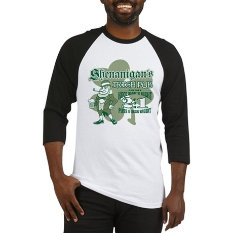 Shenanigan's Irish Pub (light Baseball Jersey