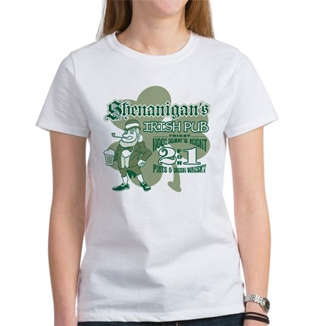 Shenanigan's Irish Pub (light Women's T-Shirt