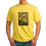 First Snowfall Yellow T-Shirt