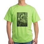 First Snowfall Green T-Shirt