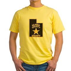 Beaver County Sheriff Yellow T-Shirt