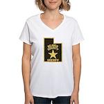 Beaver County Sheriff Women's V-Neck T-Shirt