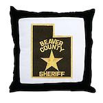 Beaver County Sheriff Throw Pillow