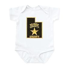 Beaver County Sheriff Infant Bodysuit