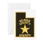 Beaver County Sheriff Greeting Cards (Pk of 10)