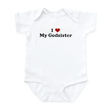 I Love My Godsister Infant Bodysuit