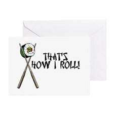 Sushi ROLLing Greeting Cards (Pk of 20)